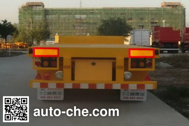 威泰尔牌FJZ9400TPB平板运输半挂车