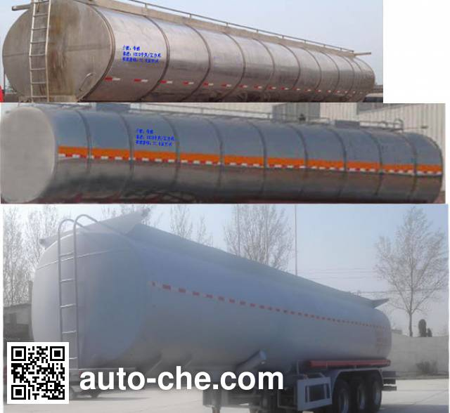 Huayunda FL9400GYS liquid food transport tank trailer