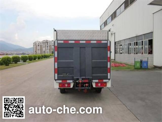 福龙马牌FLM5020XTYC4密闭式桶装垃圾车