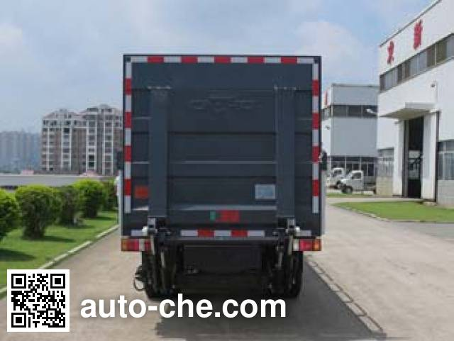 Fulongma FLM5070CTYQ5 trash containers transport truck