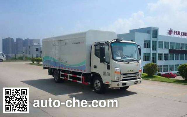 Fulongma FLM5070XTYJ4 sealed garbage container truck