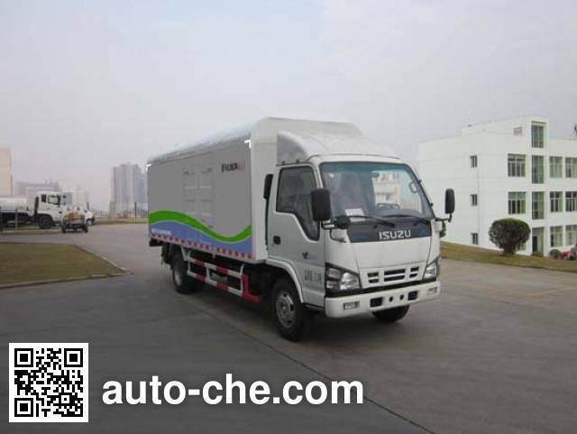 福龙马牌FLM5070XTYQ4密闭式桶装垃圾车