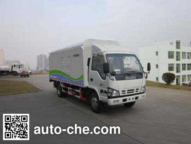 Fulongma FLM5070XTYQ4 sealed garbage container truck