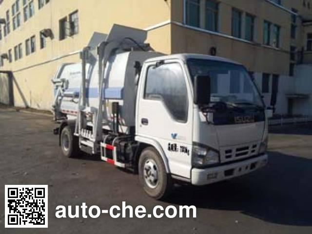 Fulongma FLM5070ZDJQ4 docking garbage compactor truck