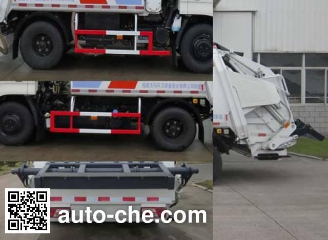 福龙马牌FLM5071ZYSJL5压缩式垃圾车