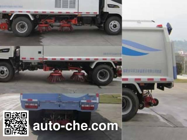 Fulongma FLM5080TSLJ5NG street sweeper truck