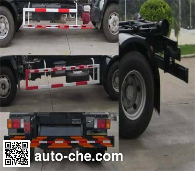Fulongma FLM5100ZXXE4 detachable body garbage truck