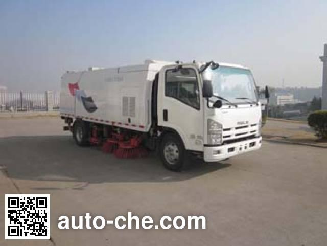 福龙马牌FLM5101TXS洗扫车