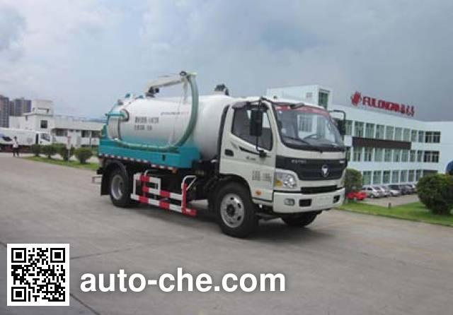 Fulongma FLM5120GXWF5 sewage suction truck