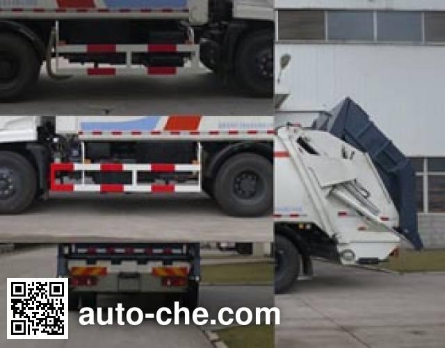 Fulongma FLM5123ZYSD5A garbage compactor truck