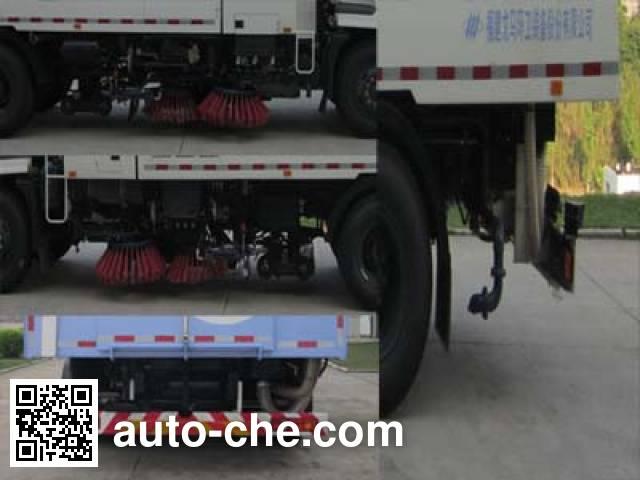 Fulongma FLM5160TQS street sweeper truck