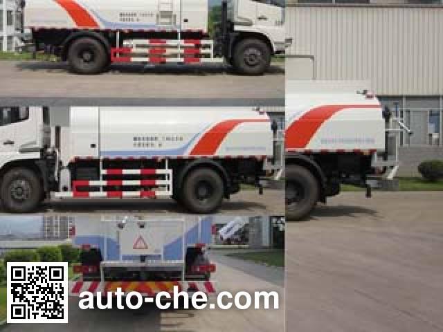 Fulongma FLM5161GQXD5NG street sprinkler truck