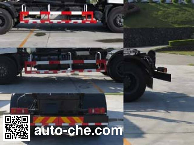 Fulongma FLM5180ZXXD5 detachable body garbage truck