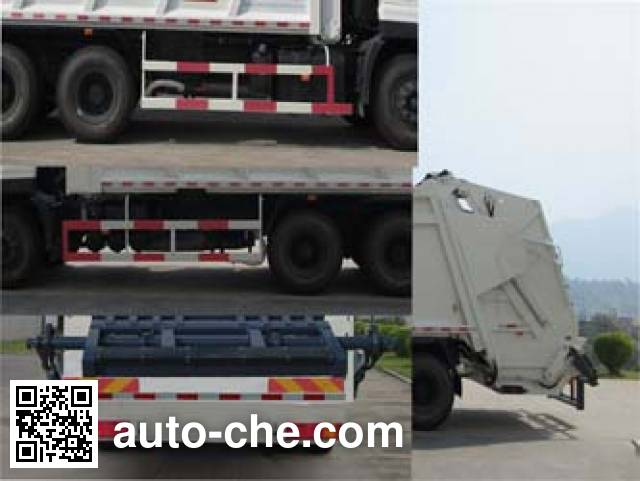 Fulongma FLM5250ZYSD5T garbage compactor truck