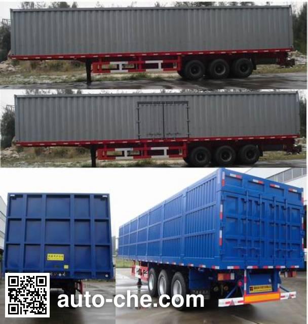Minxing FM9404XXY box body van trailer