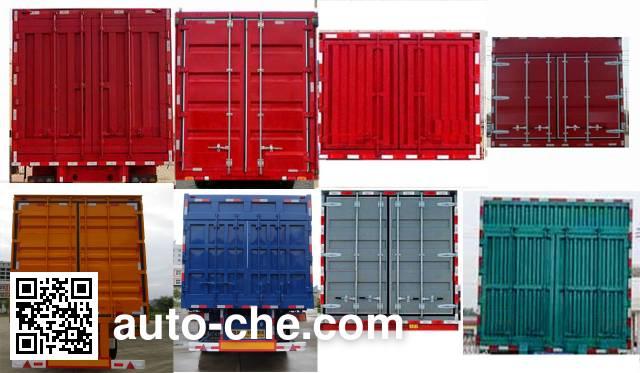 Minxing FM9408XXY box body van trailer