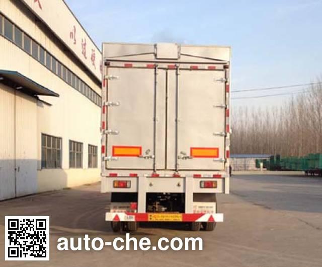 Huayuexing FNZ9350XYK wing van trailer