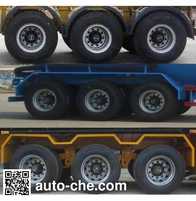 Huayuexing FNZ9400GFL medium density bulk powder transport trailer
