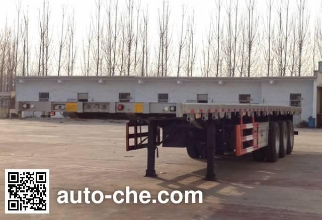 华岳兴牌FNZ9400TPB平板运输半挂车