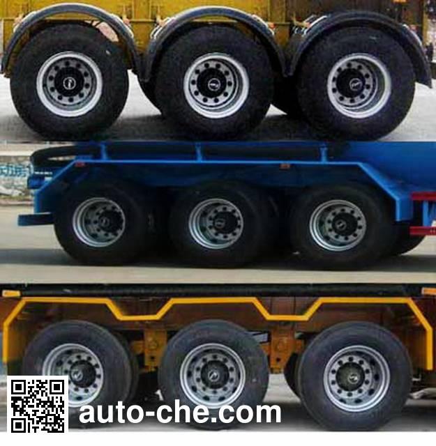 Huayuexing FNZ9401GFLD low-density bulk powder transport trailer