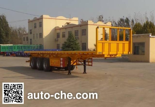Huayuexing FNZ9405ZZXP flatbed dump trailer