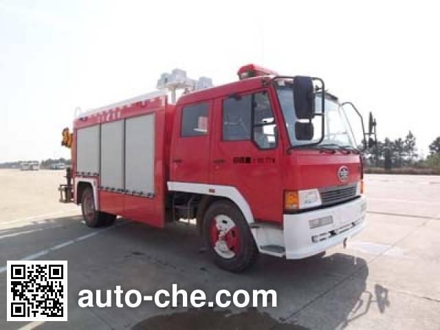 抚起牌FQZ5110TXFJY60抢险救援消防车