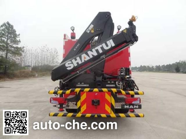 Fuqi (Fushun) FQZ5130TXFJY80/M пожарный аварийно-спасательный автомобиль