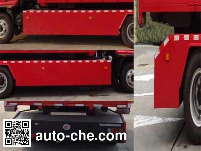 Fuqi (Fushun) FQZ5150TXFZX75 hydraulic hooklift hoist fire truck