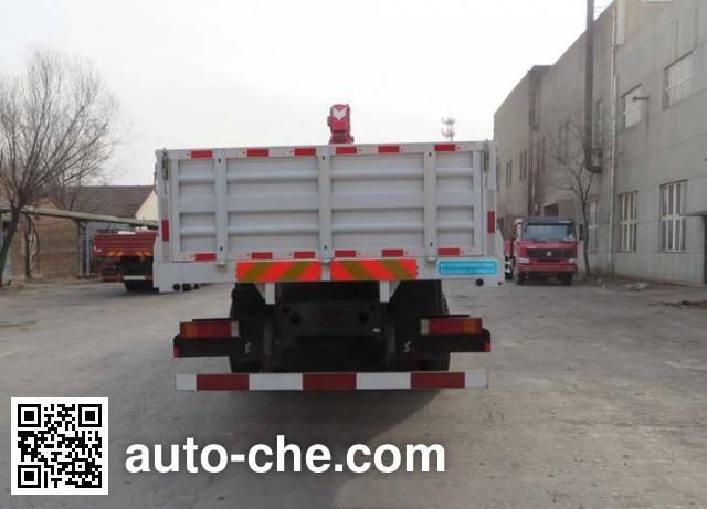 Freet Shenggong FRT5250JSQ5G5 truck mounted loader crane