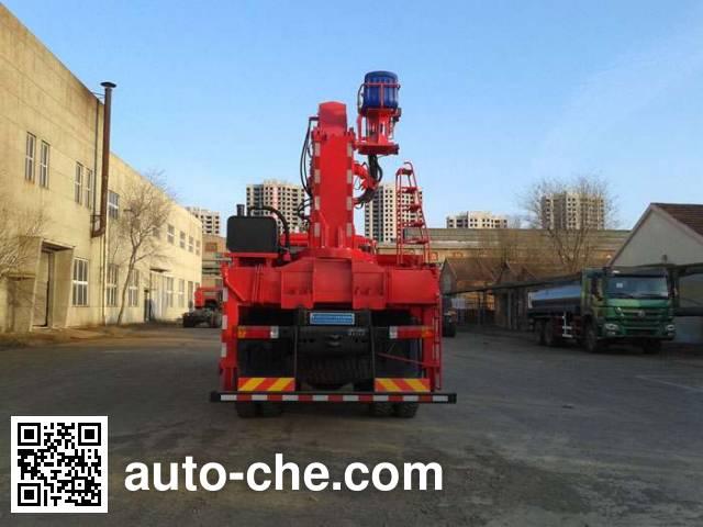 Freet Shenggong FRT5252JSQ10 truck mounted loader crane