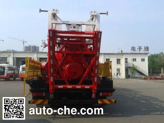 Freet Shenggong FRT5460TXJ well-workover rig truck
