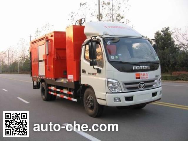 英达牌FTT5080TXBPM22沥青路面热再生修补车