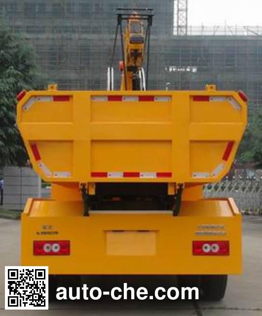 英达牌FTT5121ZZDGT4抓斗式垃圾车