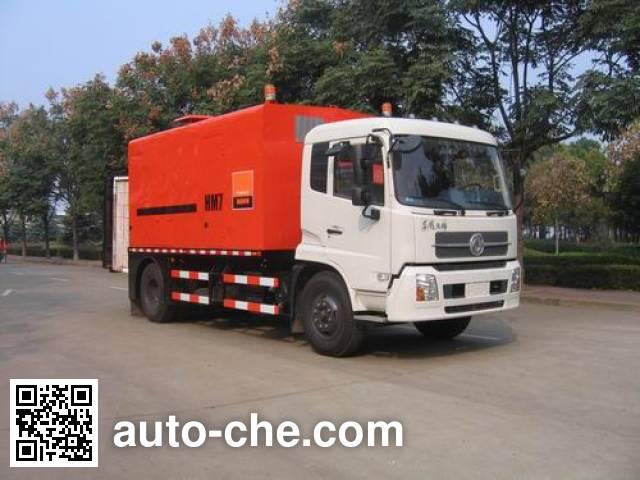 英达牌FTT5160TJRHM7沥青路面热再生加热车