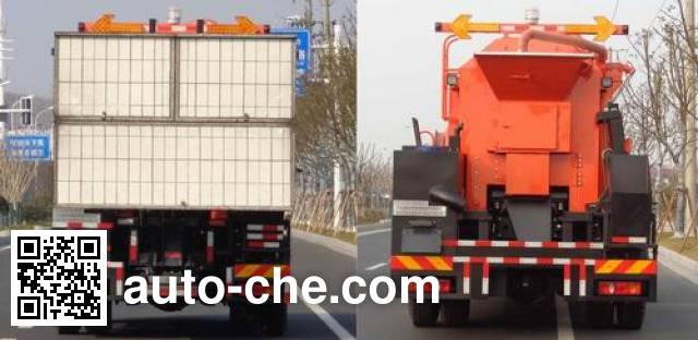英达牌FTT5160TXBPM39V沥青路面热再生修补车