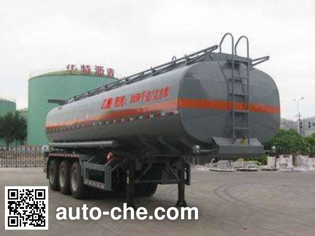 大力士牌FTW9402GFW腐蚀性物品罐式运输半挂车