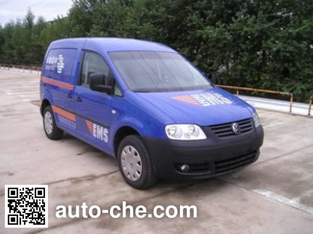 Volkswagen Caddy FV5020XYZ postal vehicle