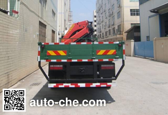 凌扬(FXB)牌FXB5310JSQRY随车起重运输车