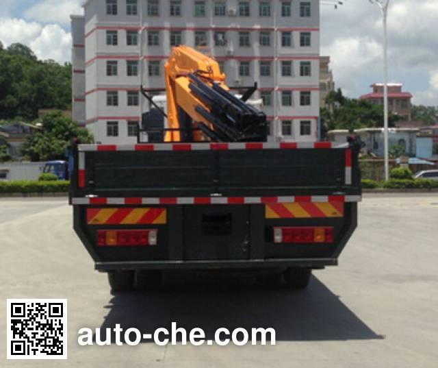 凌扬牌FXB5310JSQT5随车起重运输车