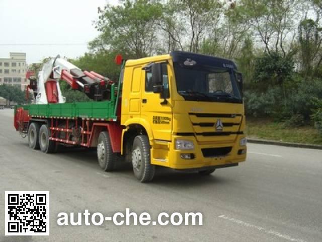 凌扬(FXB)牌FXB5317JSQ4HW随车起重运输车