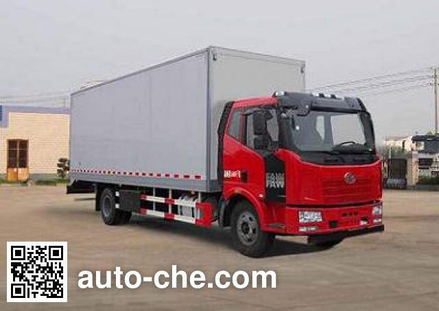 FAW Fenghuang FXC5161XBWP62L4E4 insulated box van truck