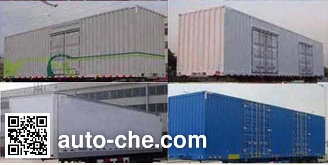 Fengyuan Zhongba FYK9401XXY box body van trailer