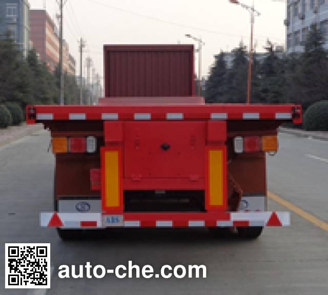 Fengyuan Zhongba FYK9402ZZXP flatbed dump trailer