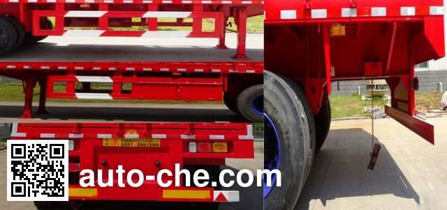 Shuangyalong FYL9401XXY box body van trailer