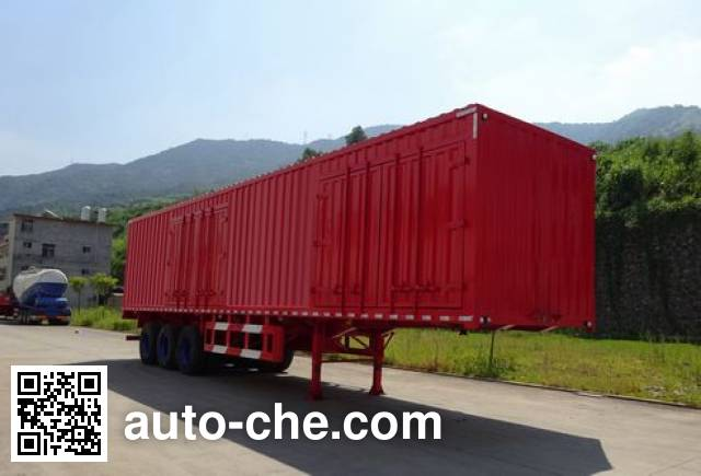 Shuangyalong FYL9403XXY box body van trailer