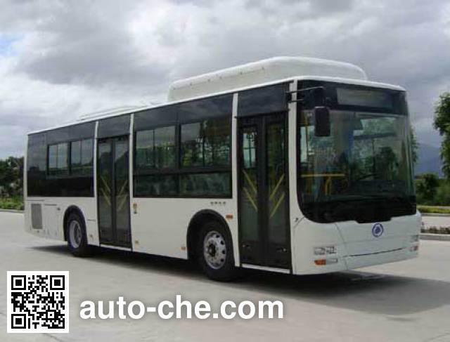 福达牌FZ6109UFNHEV501混合动力城市客车