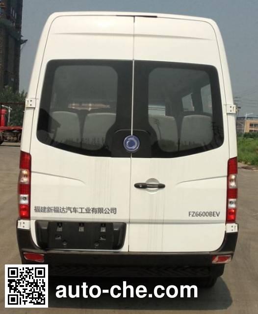 福达牌FZ6600BEV纯电动客车