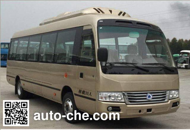 福达牌FZ6800BEV纯电动客车