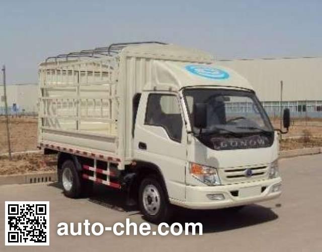 吉奥牌GA5040DCTCXYE3A仓栅式运输车
