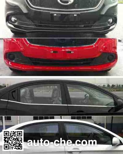 Trumpchi GAC7160F1M4B dual-fuel car